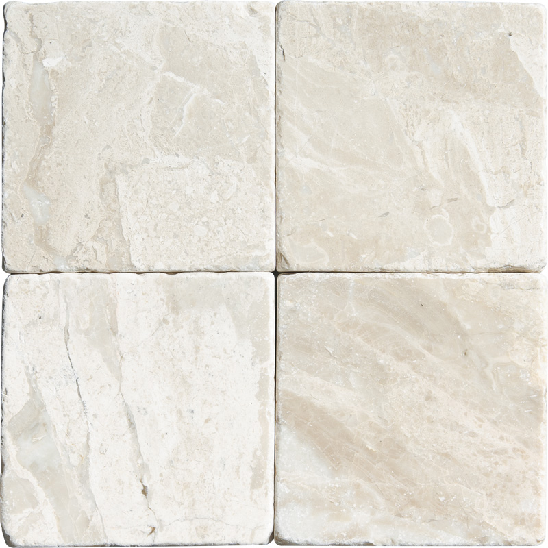 Diana Royal Tumbled Marble Tiles 10x10 Tureks