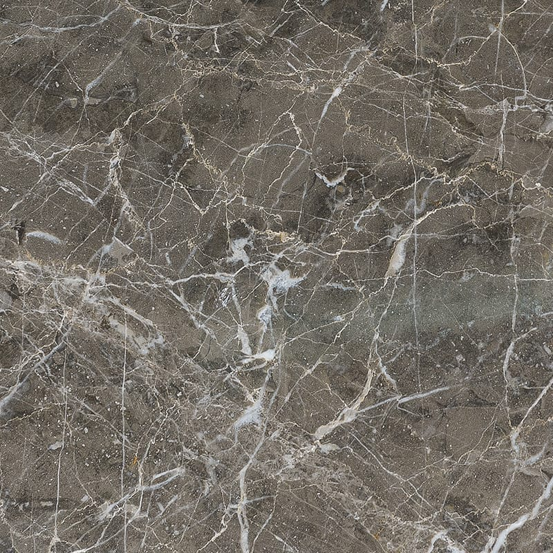 Arctic Gray Polished Marble Tiles 45,7x45,7