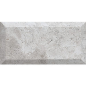 Silver Clouds Honed Subway Marble Tiles 7x14