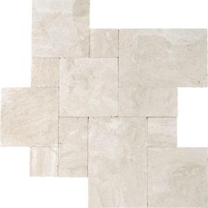Diana Royal Tumbled Marble Patterns Versailles Pattern