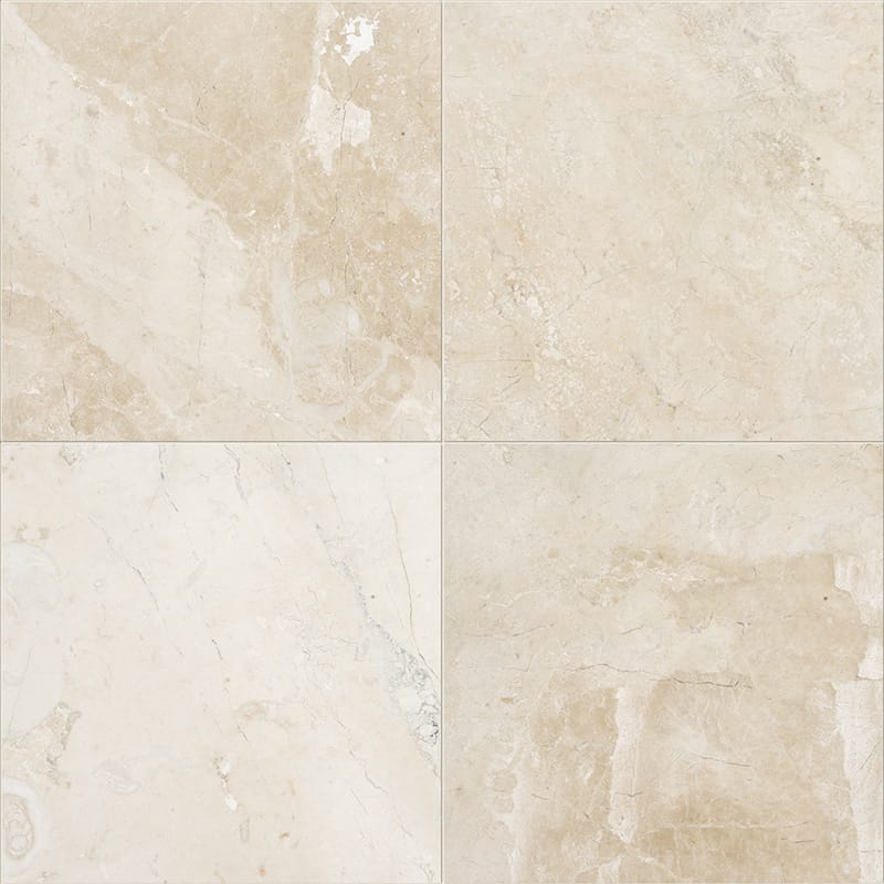 Diana Royal Classic 3/4 Honed Marble Tiles 61×61