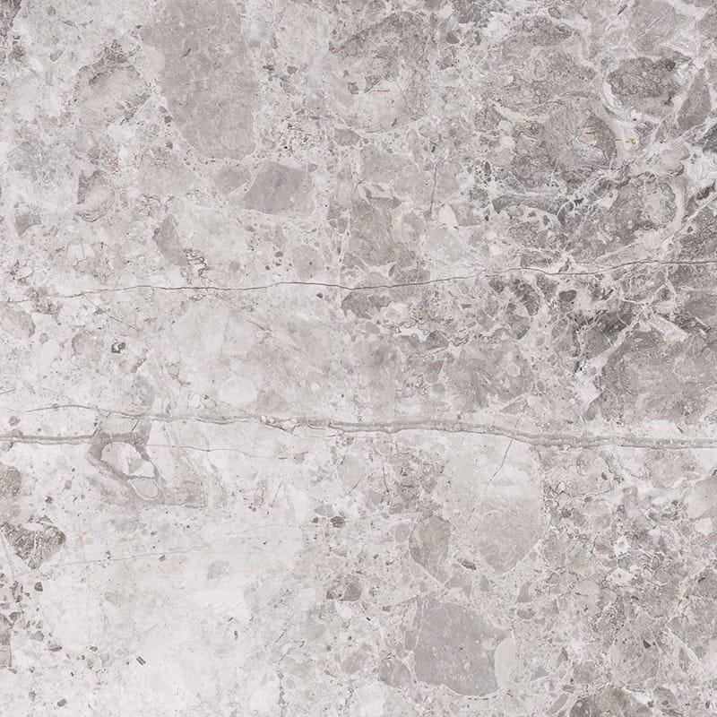 New Tundra Gray Honed Marble Tiles 45,7×45,7
