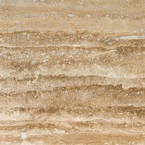 Mahogany Vein Cut Honed&filled Travertine Tiles 45,7x45,7