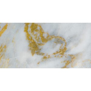 Calacatta Fusion Polished Marble Tiles 30x60