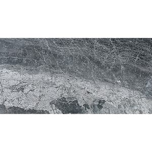 Haisa Black Polished Marble Tiles 30,5x61
