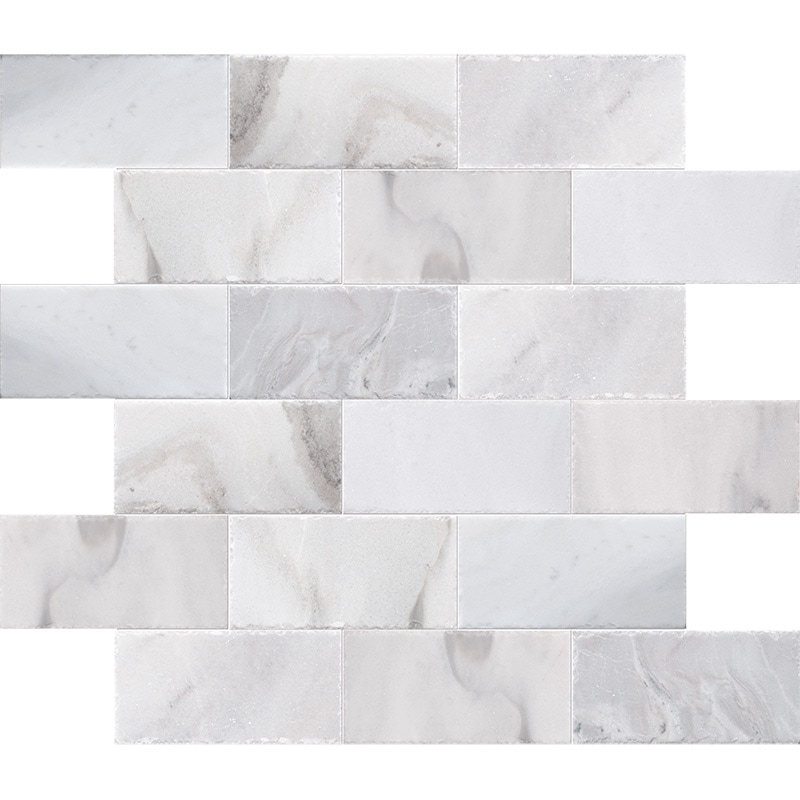 Skyline Cross Cut Brushed Marble Pavers 15,2×30,5