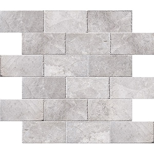 New Silver Shadow Brushed Marble Pavers 15,2x30,5