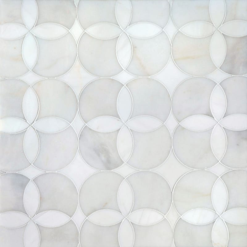 Avenza Light, Dolomite Multi Finish 34,52x34,52 Constantine Marble Waterjet Decos