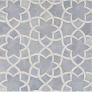 Afyon Grey, Dolomite Multi Finish Isidore Marble Waterjet Decos 31,68x36,56