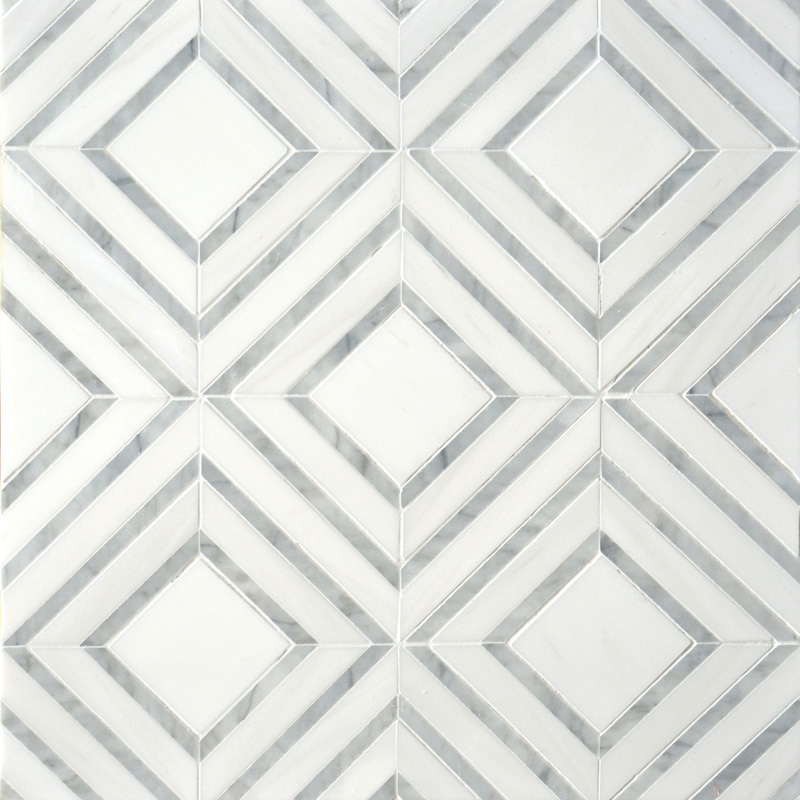 Avenza Light, Dolomite Multi Finish 22,38x27,94 Yildiz Marble Waterjet Decos