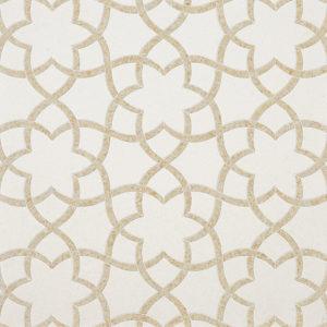 Champagne, Seashell Multi Finish Isidore Limestone Waterjet Decos 31,68x36,56
