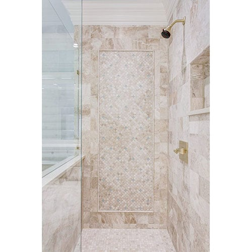 DIANA ROYAL POLISHED 1X1 MARBLE MOSAICS (MS00805) DIANA ROYAL POLISHED MARBLE TILES (TL13961)