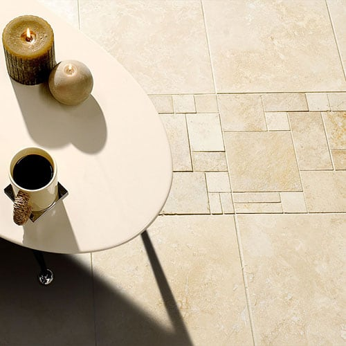 CANYON HONED&FILLED TRAVERTINE TILES (TL13851)