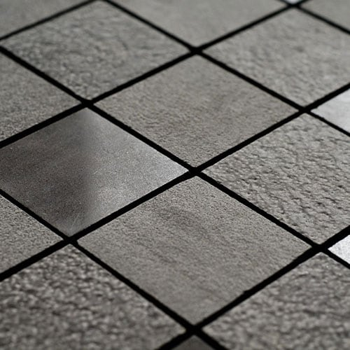 BOSPHORUS TEXTURED 2X2 LIMESTONE MOSAICS (MS01299)