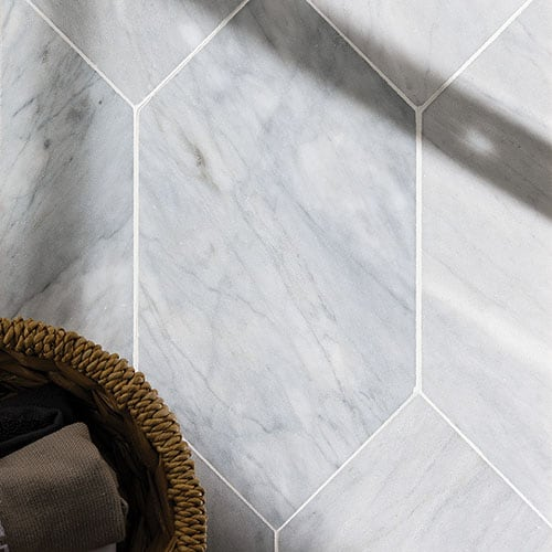 AVENZA HONED LARGE PICKET MARBLE WATERJET DECOS (NW00028)