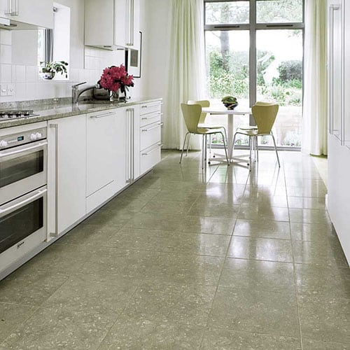 OLIVE GREEN HONED LIMESTONE TILES (TL12366)
