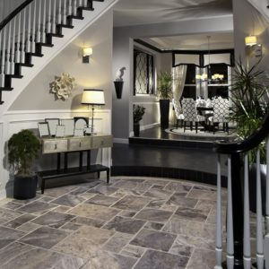 SILVERADO BRUSHED CHISELLED TRAVERTINE PATTERNS (TL13761)