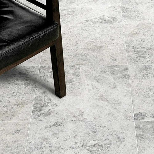 SILVER SHADOW HONED MARBLE TILES (TL13900)