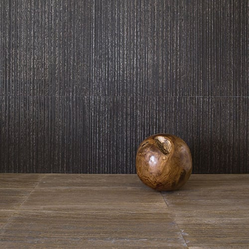 WALNUT DARK VEIN CUT HONED&FILLED TRAVERTINE TILES (TL17412)