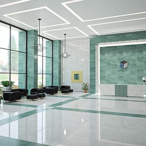 VERDE CAPRI HONED MARBLE TILES (TL18041)