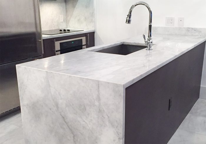 Gray Turkish marble