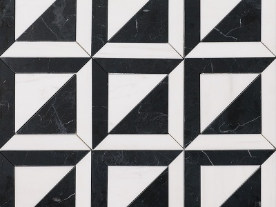 Black and White Marble