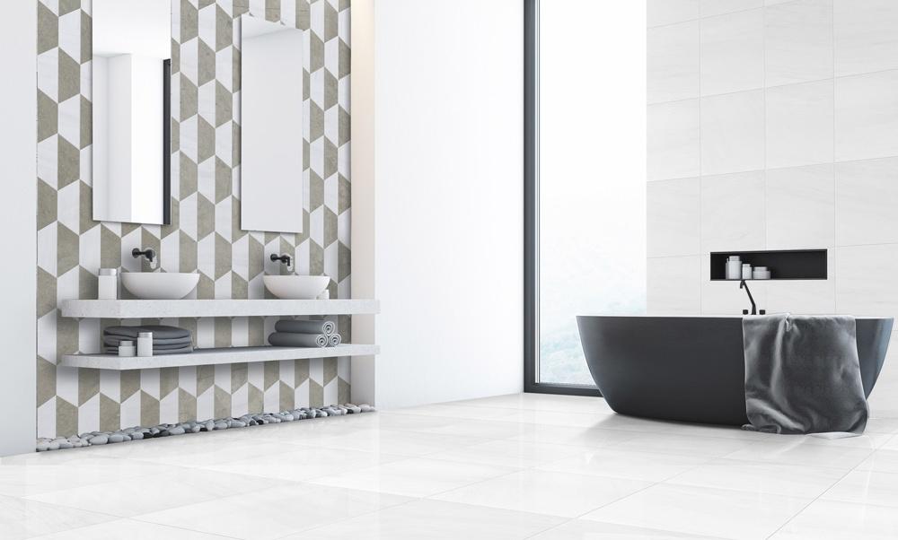 Banyo için şık tasarımlar