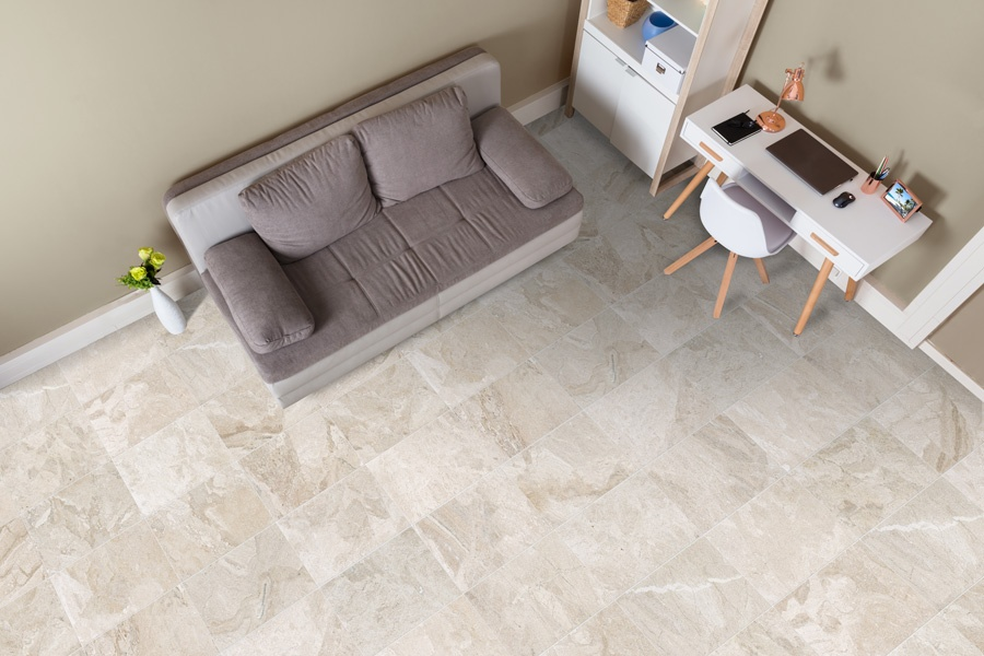 Diana Royal Marble Use in Living Room - diana royal marble