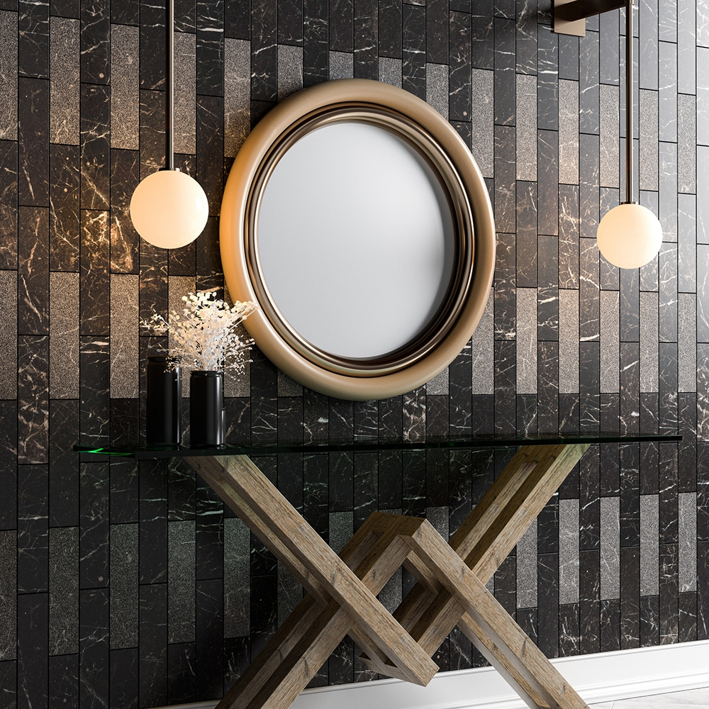 Iris Black Marble Collection