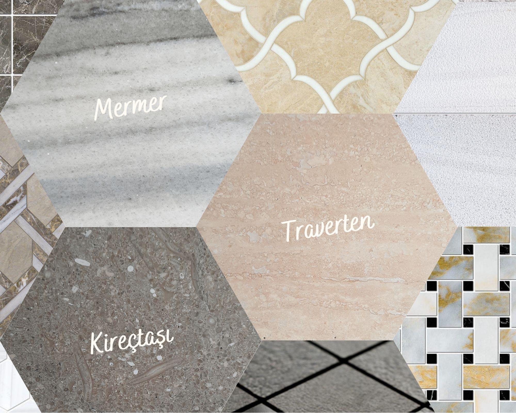 doğal taş çeşitleri